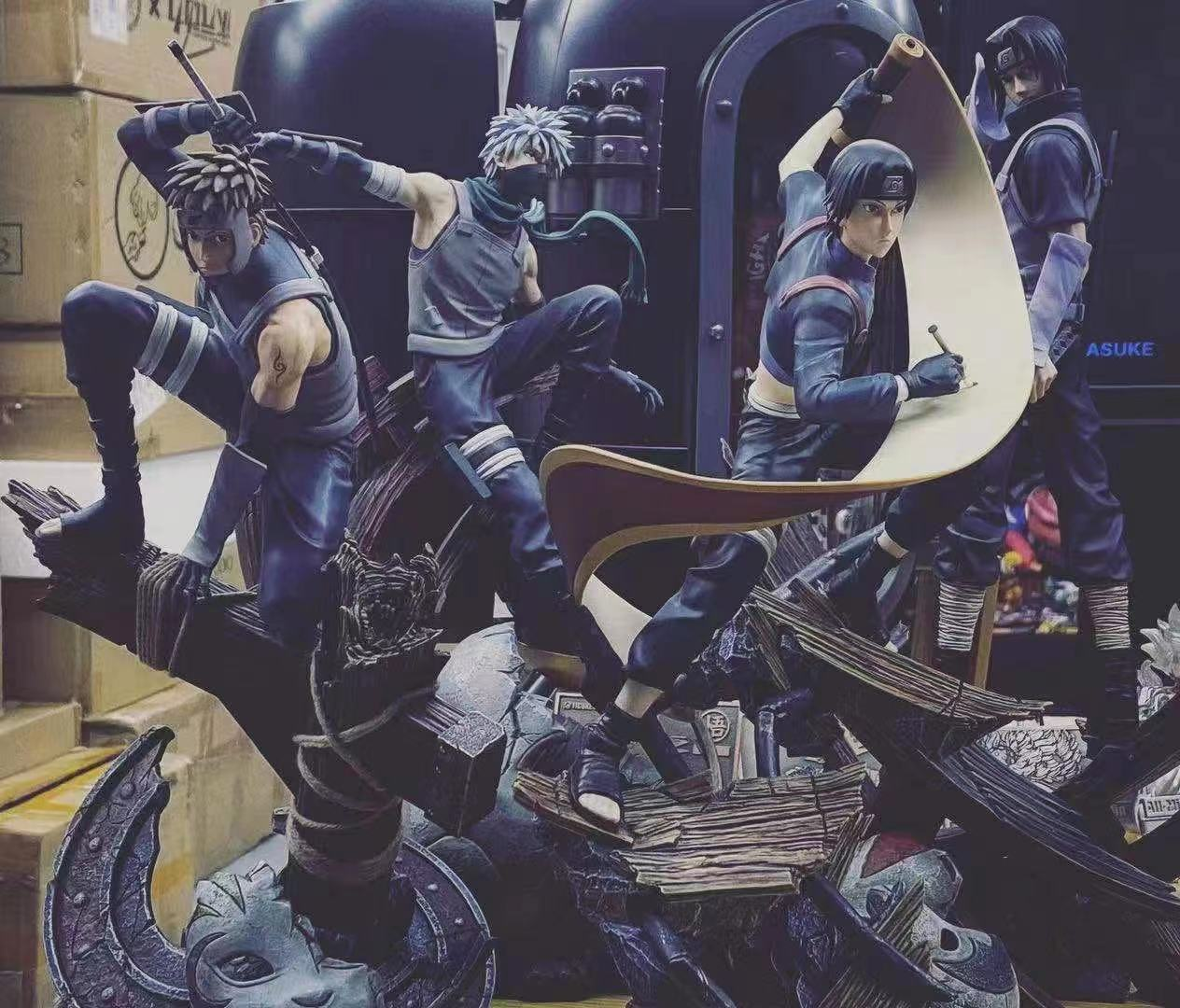 Image of [In-Stock]Naruto MH Studio Anbu Series Sai 1:7 Resin Statue
