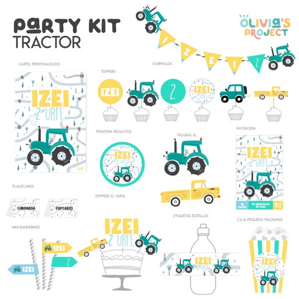 Image of Party Kit Tractor