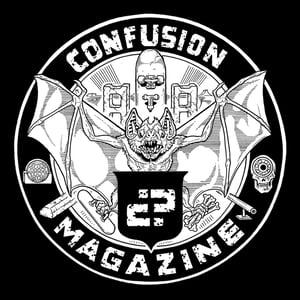 "Image of Confusion - ""Bat Crest"" - t-shirt [black]"