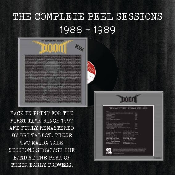 """DOOM """"The Complete Peel Sessions"""" LP (PREORDER)"""