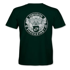 """Image of Confusion - """"Bat Crest"""" t-shirt - [forest green]"""