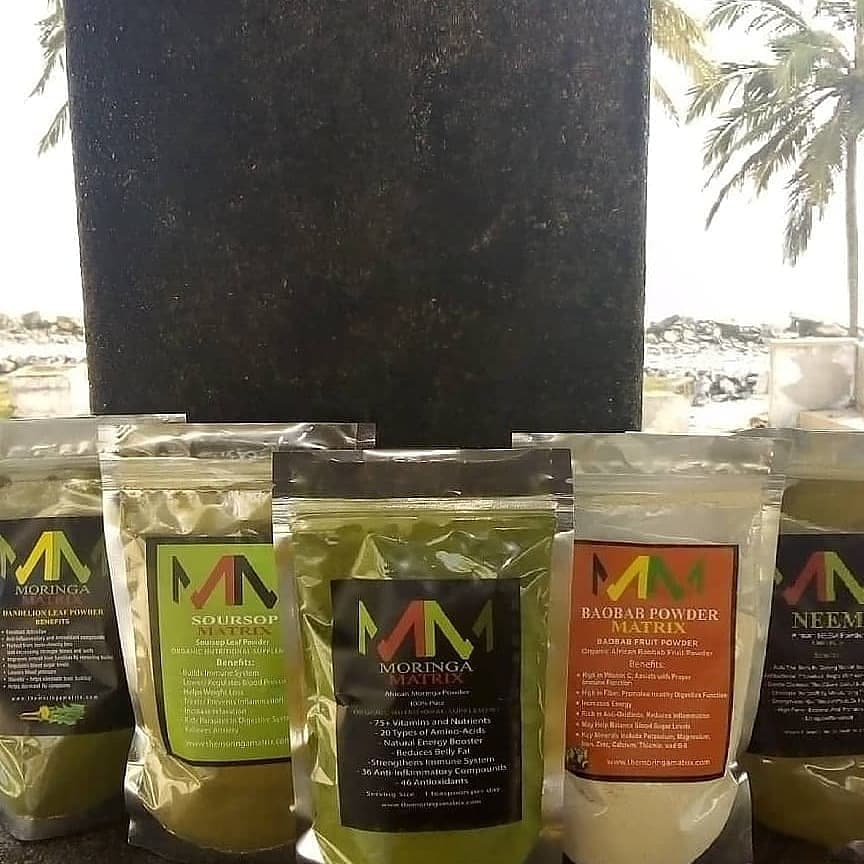 Image of All 8 Moringa Matrix Products Combined