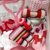 Deluxe Elephant Baby Girl Gift Box