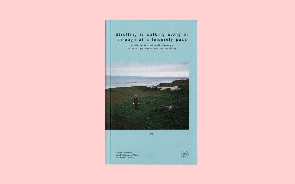 Image of Strolling is walking along or through at a leisurely pace