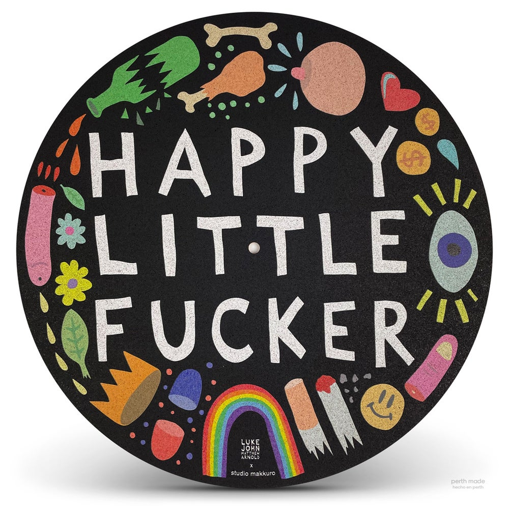 Image of Happy Little Fucker collab with Luke Arnold (NSW)