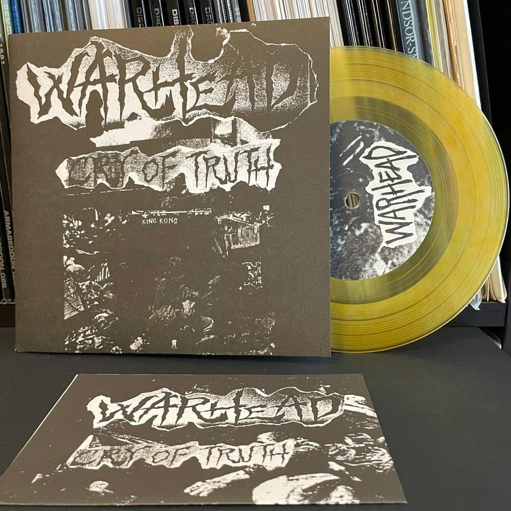 "WARHEAD ""Cry Of Truth"" 7"" EP"