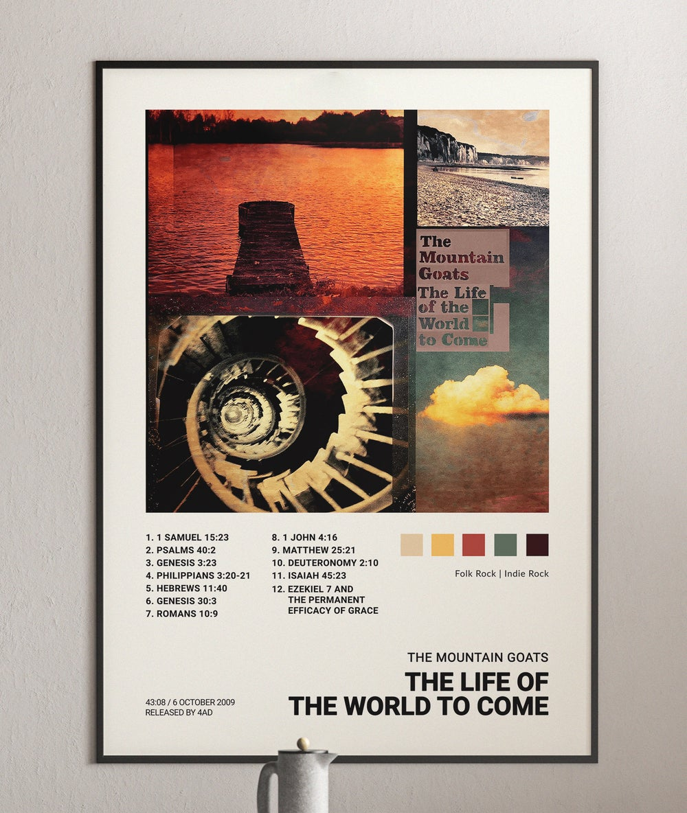 The Mountain Goats - The Life of the World to Come Album Cover Poster