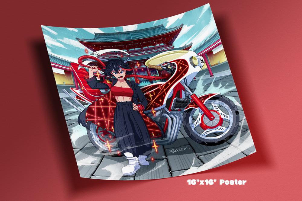 Image of Ryuko Bosozoku Poster