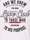 Baseball Tee Romans 8:28