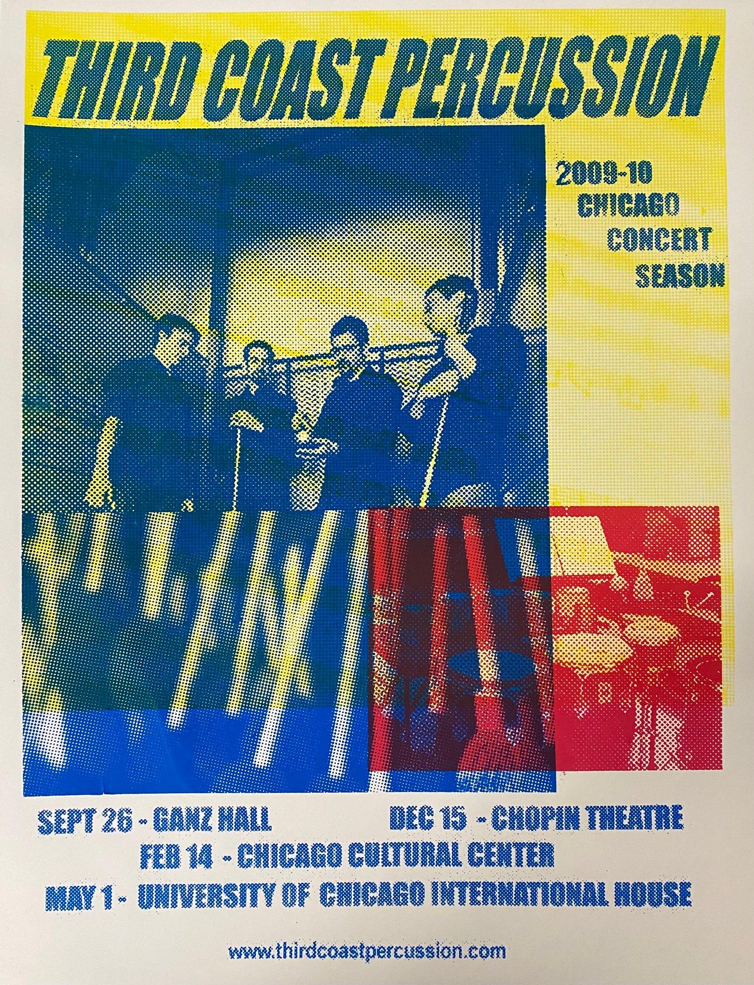 Image of Vintage Poster (2009-2010 season)