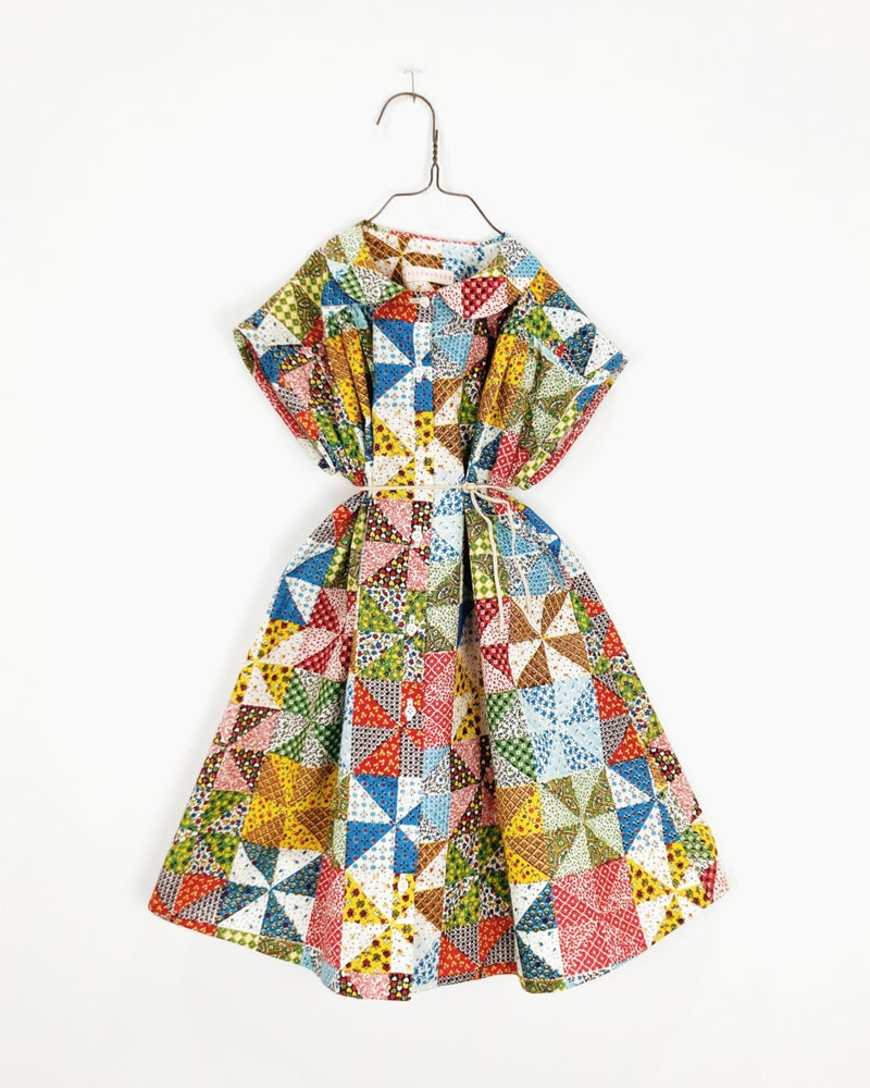 Image of Patchwork Prairie Dress