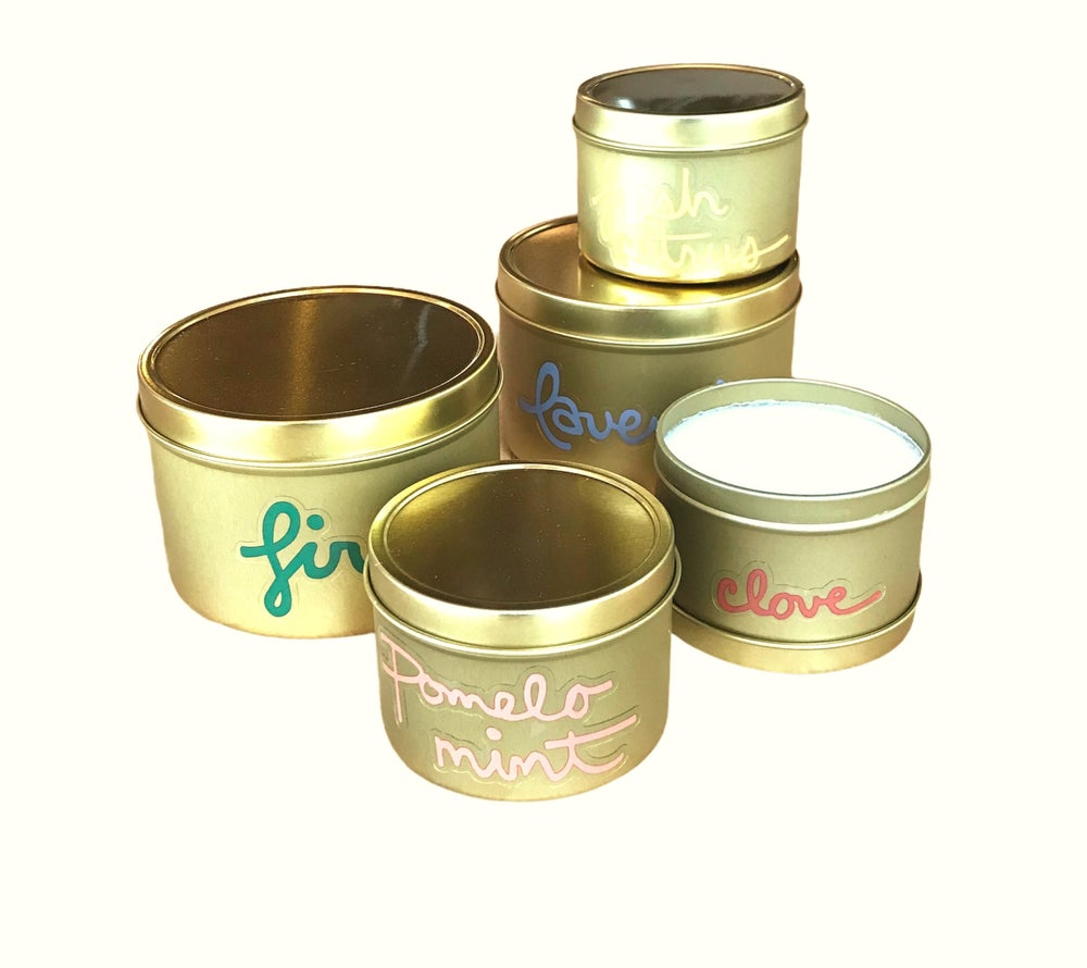 Image of Housemade Essential Oil Candles - Tin