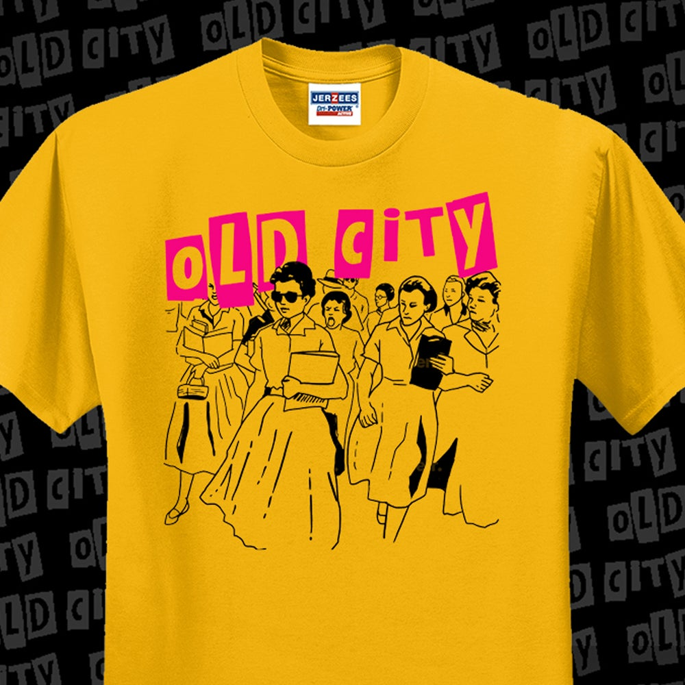 Image of Old City - Gold Tee