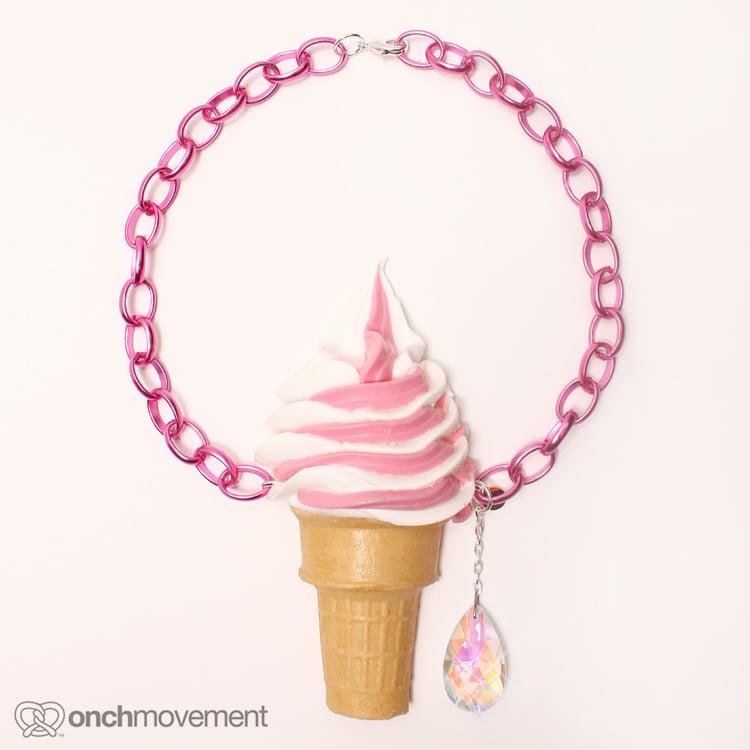 Image of Strawberry Swirl Cone