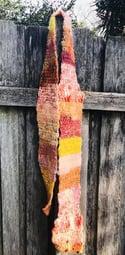 Yellow Artisan Scarf