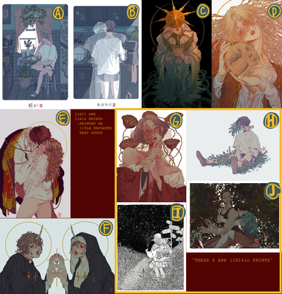 Image of Assorted 11x17in Prints