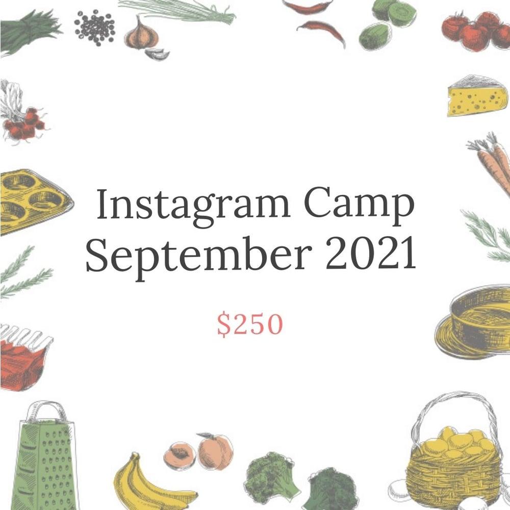 Image of September Instagram Camp #1