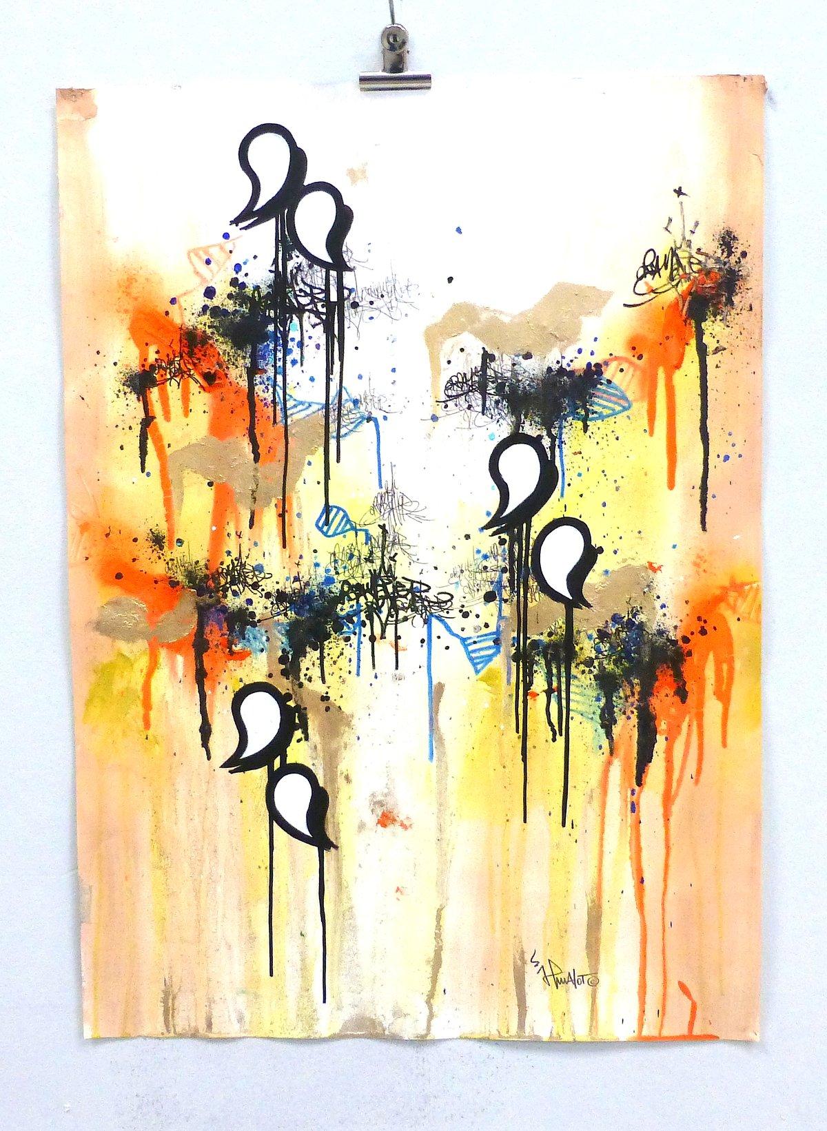 Image of JP MALOT 'Tags and abstract 2021'