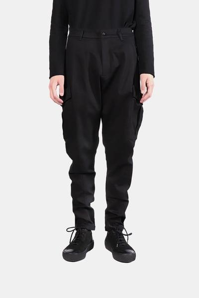 Image of IMMENSE - 雙口袋彈性工作褲 2.0 (黑)