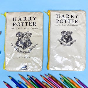Image of Order of the Phoenix, Harry Potter Book Page Pencil Case