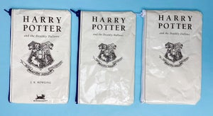 Image of Deathly Hallows, Harry Potter Book Page Pencil Cases