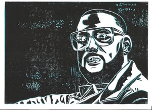 Image of Madlib Linol-Print
