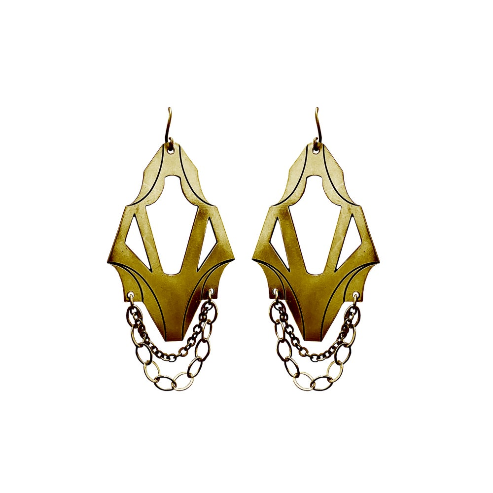Image of Boucles d'oreilles V or