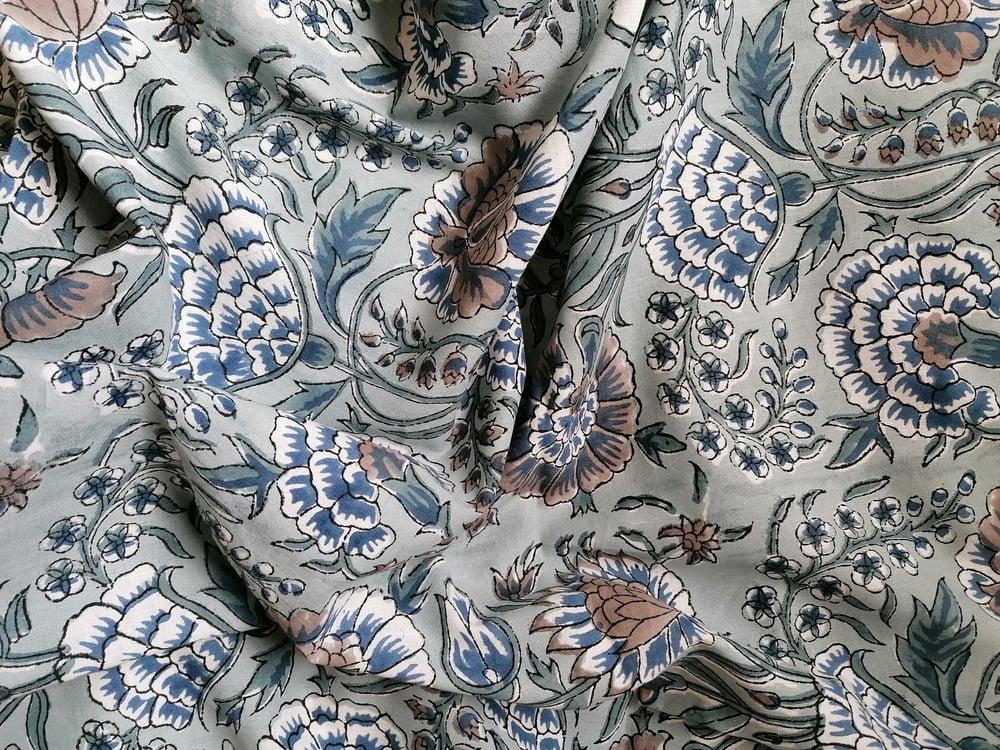 Image of Namasté fabric anémone