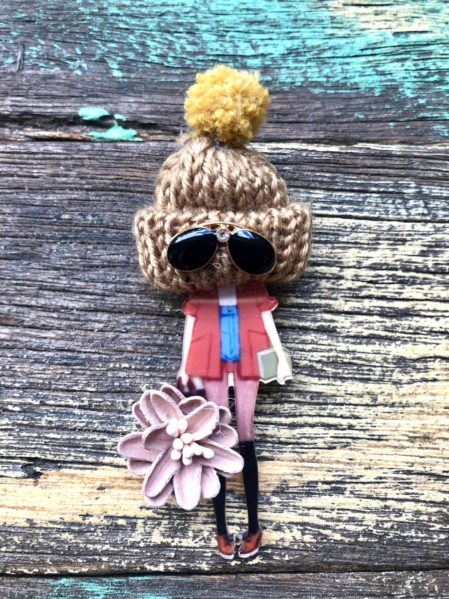 Image of Classy Doll Brooches