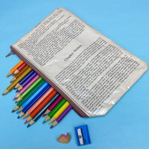 Image of Bronte Sisters, Jane Eyre Book Page Pencil Case