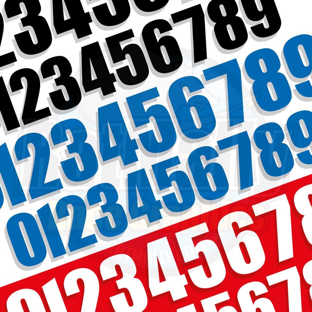 Image of ACU Race Number Packs