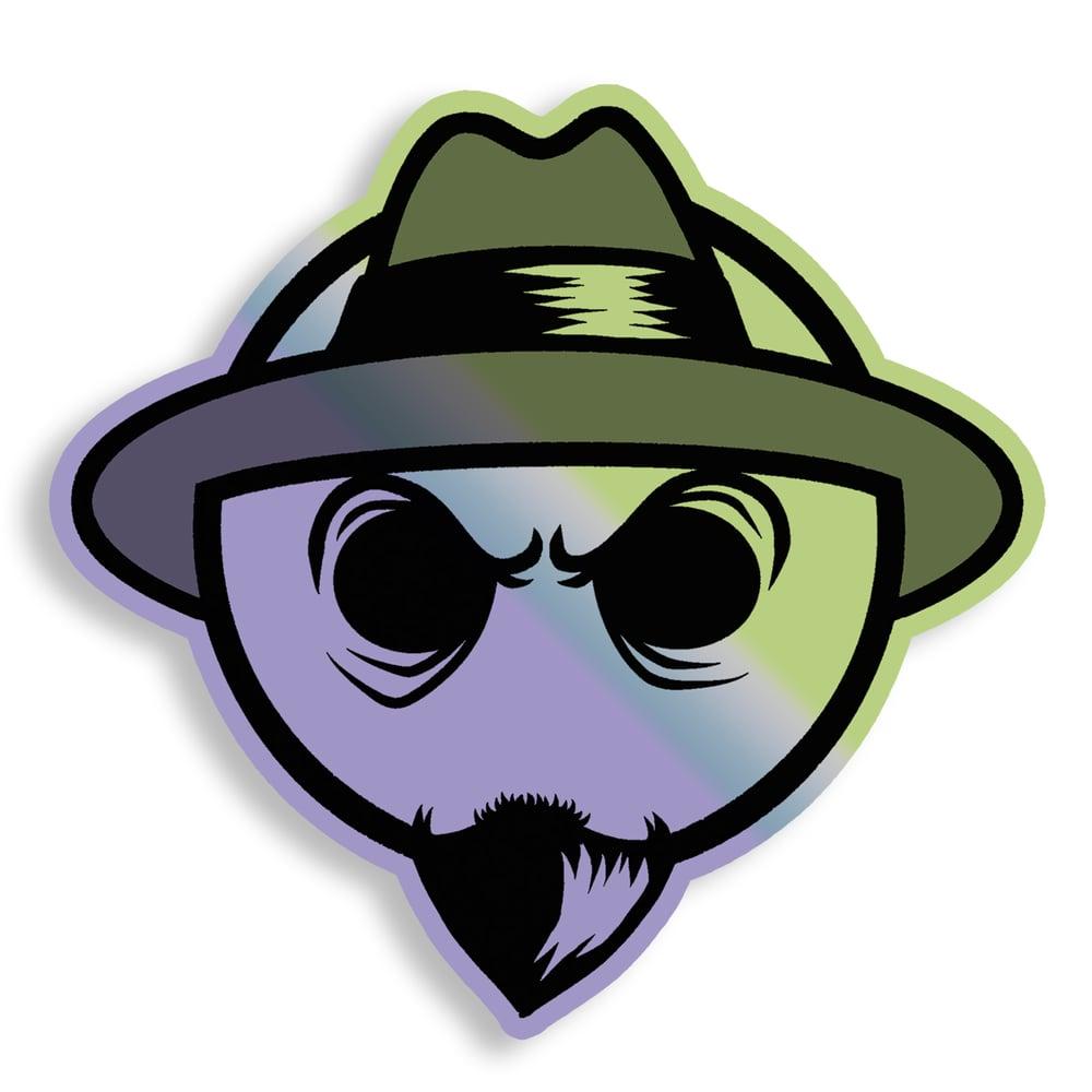 Lowrider Sammy (Holographic Sticker)