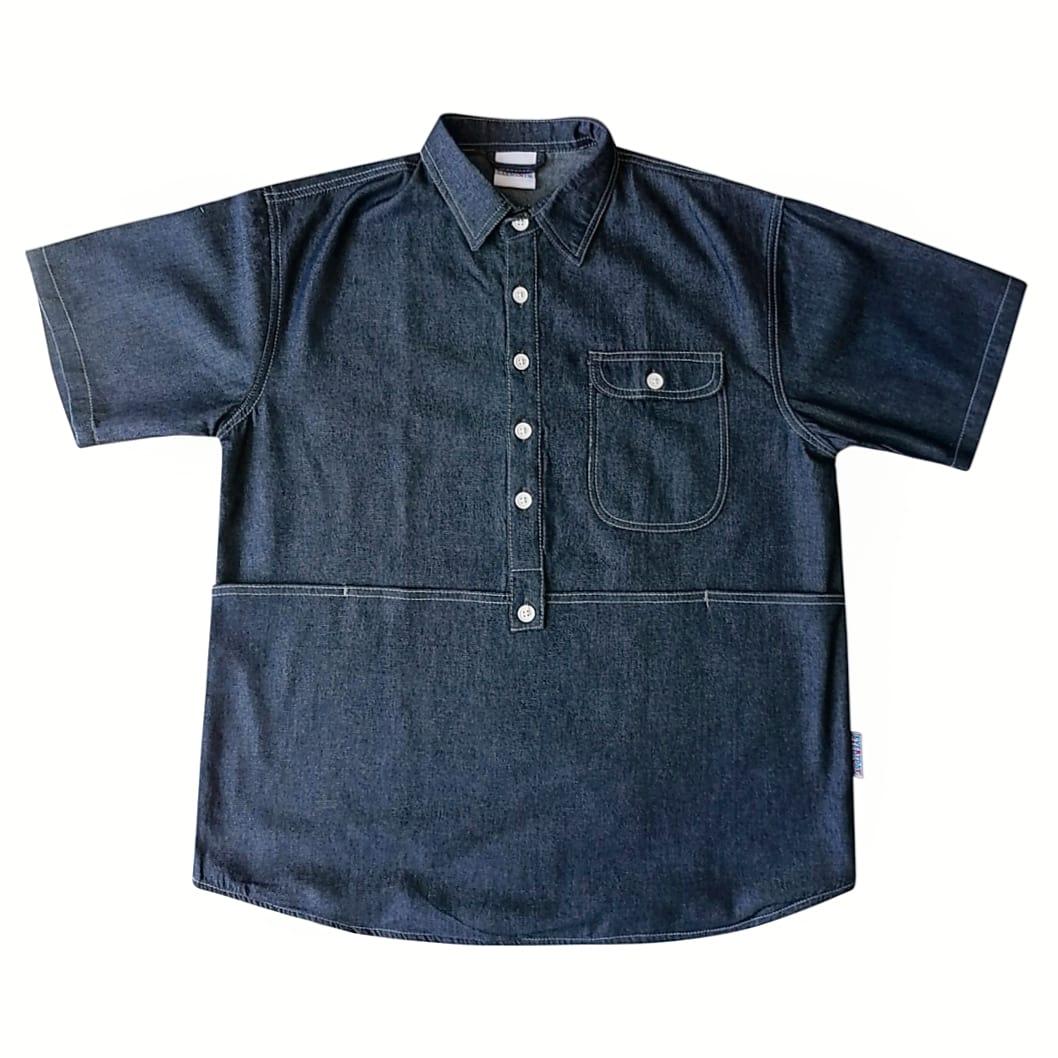 Image of Everyday Garments Big Pouch Pocket Denim Shirt