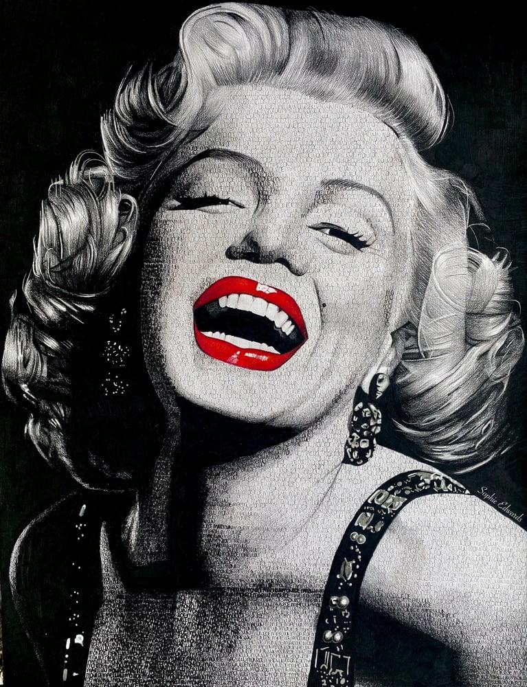 Image of Marilyn Monroe Print