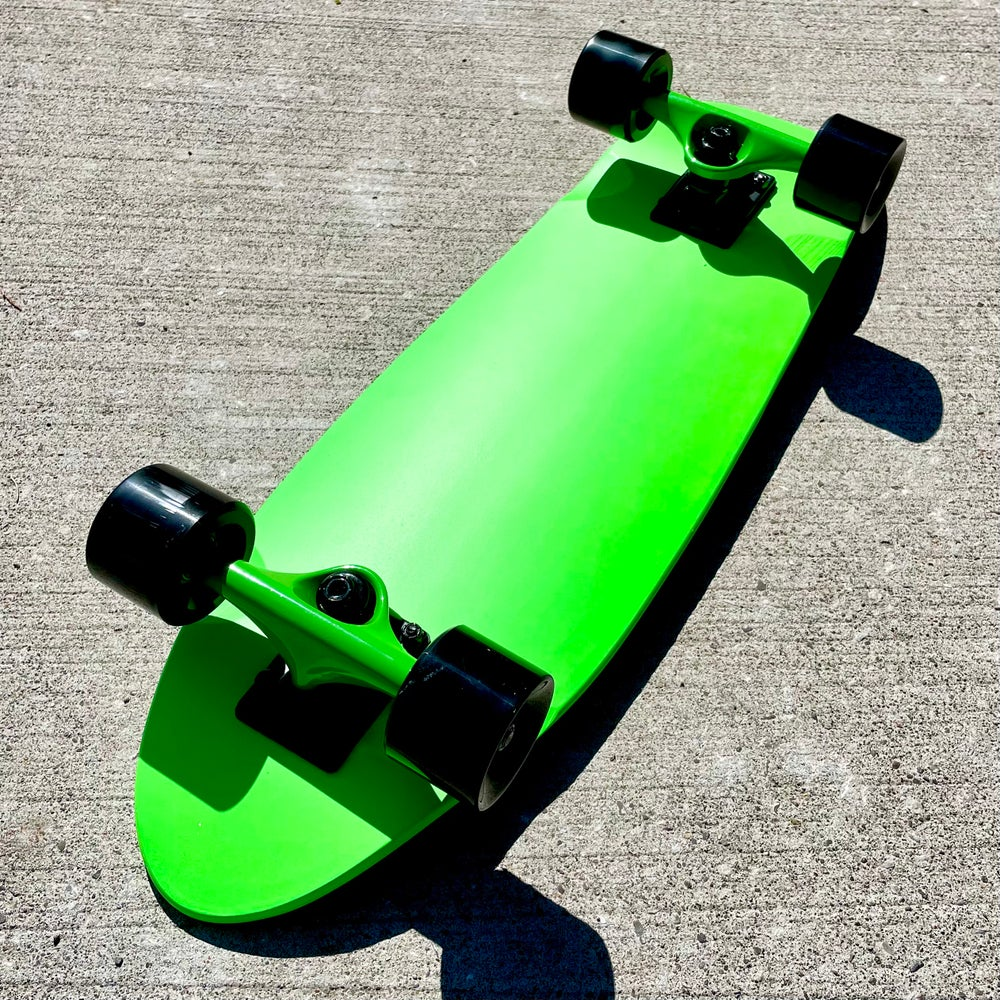 """Image of Neon Green 8"""" Complete Cruiser"""