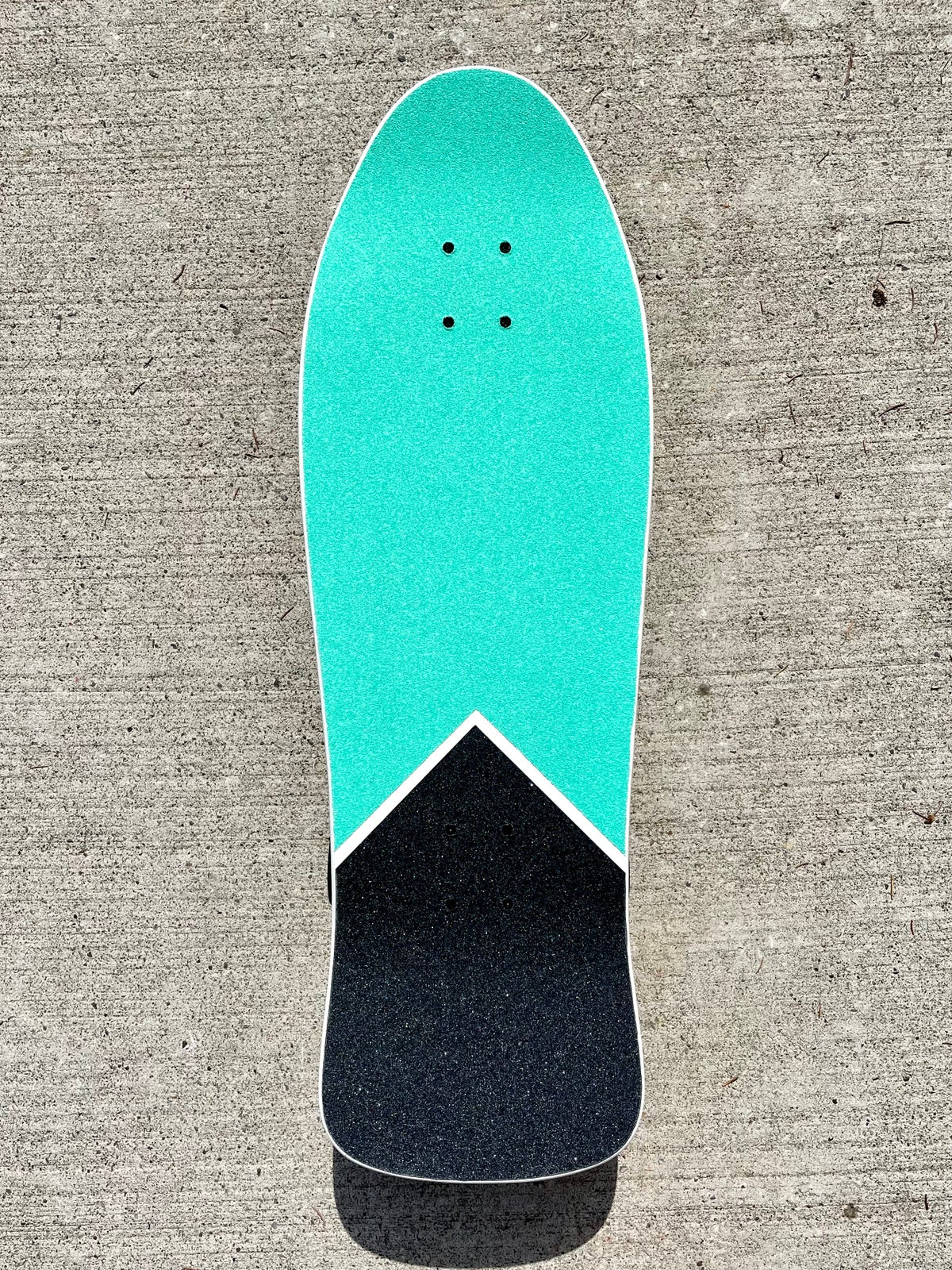 "Image of Old School 10"" Pool Cruiser Complete Skateboard"