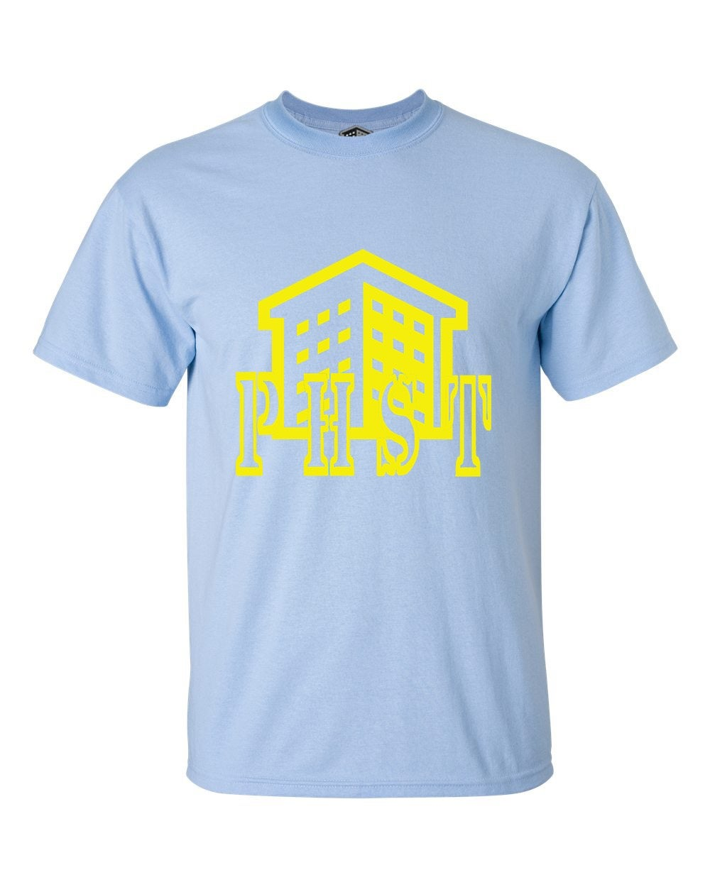 """Image of PHST """"Housing workers"""" T-shirt"""
