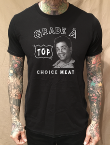 Image of GRADE A TOP CHOICE MEAT BLACK TEE