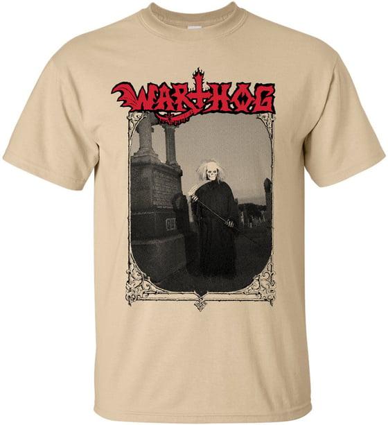 Image of Larry Grim Reaper - Cream T-Shirt