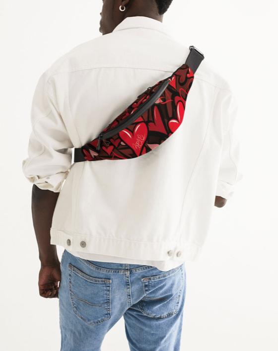 Image of Bee1ne Spread More Love crossbody sling bag