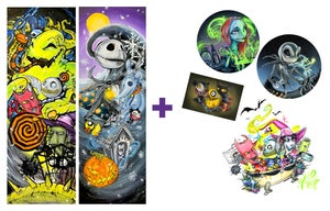 """Image of """"Nightmare Before Christmas 3.0"""" Holographic Print Pack"""