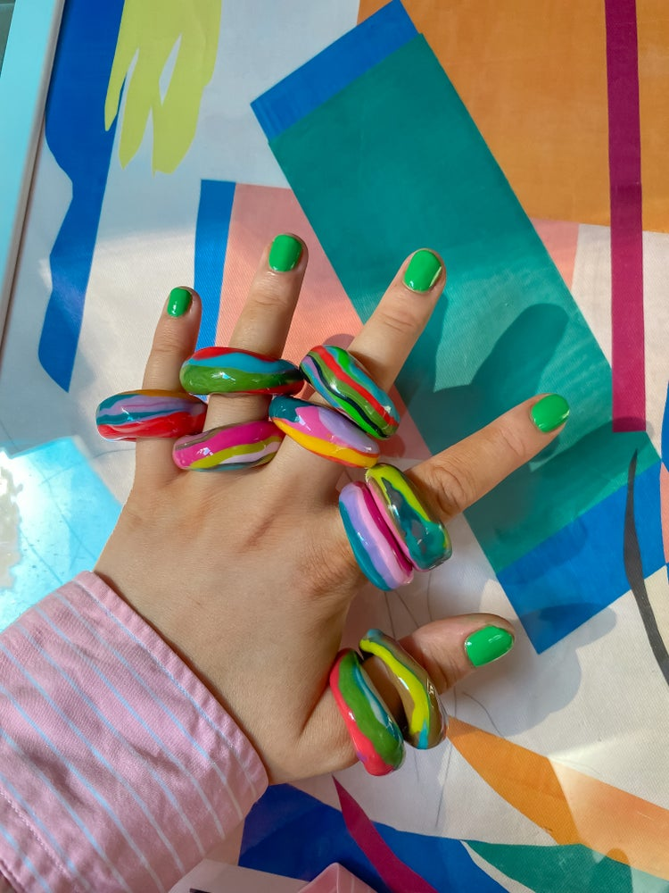 Image of Abstract Arts Rings