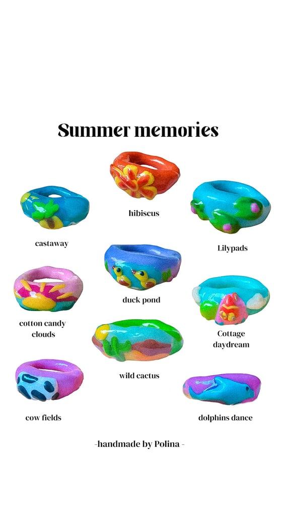 Image of Summer Memory Rings