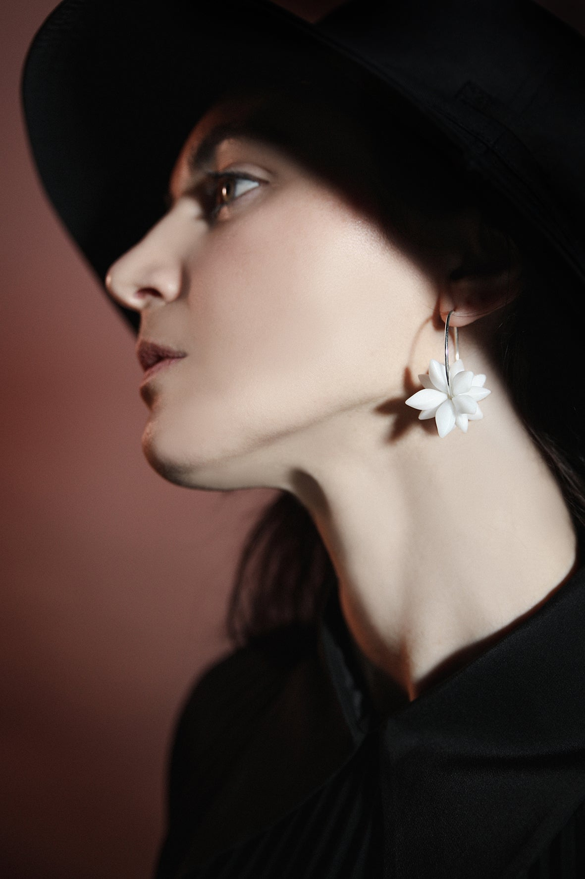 Image of STELLAR hoop earrings