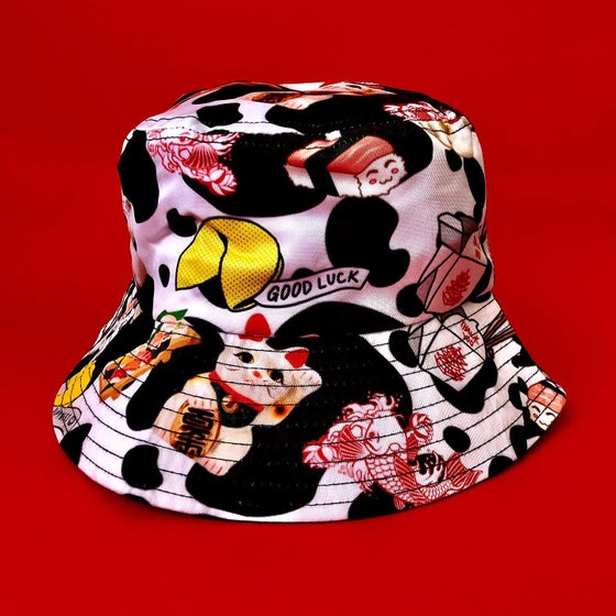 Image of LUCKY CAT SERIES BUCKET HAT