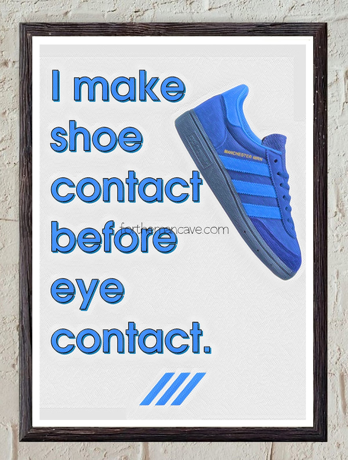 Image of SHOE CONTACT FIRST - MANCHESTER MRN - PRINT