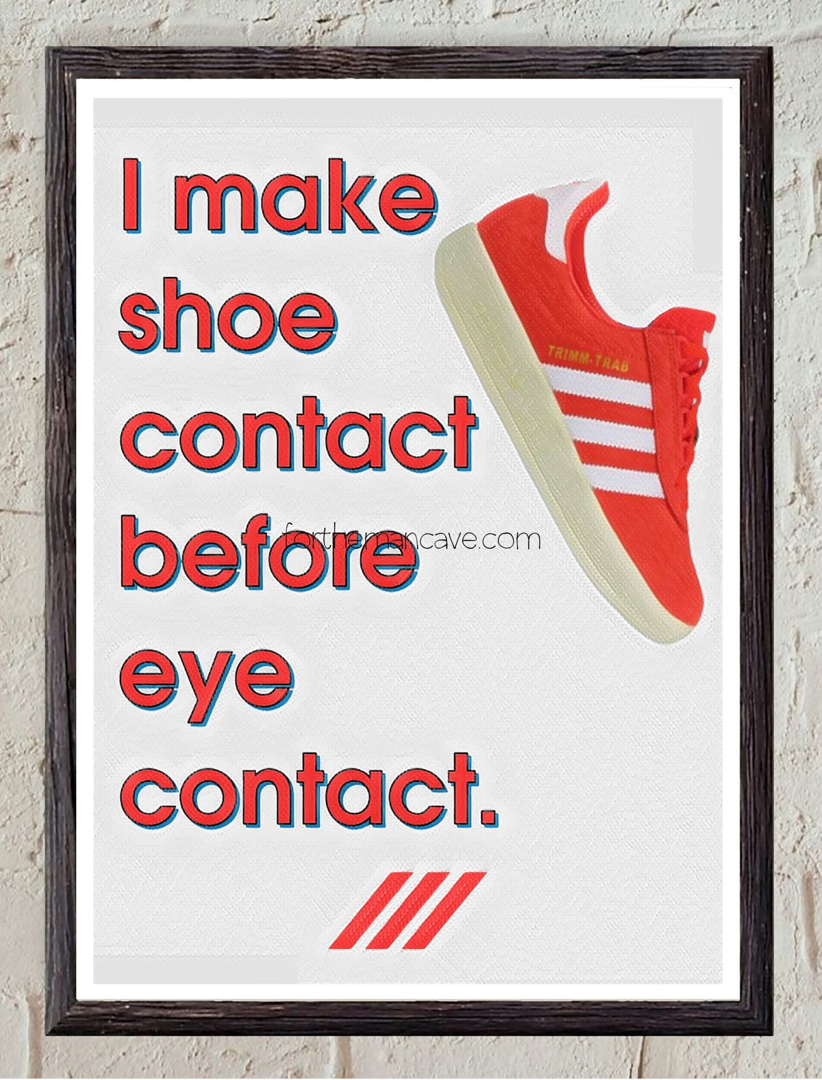 Image of SHOE CONTACT FIRST - TRIMM TAB - PRINT