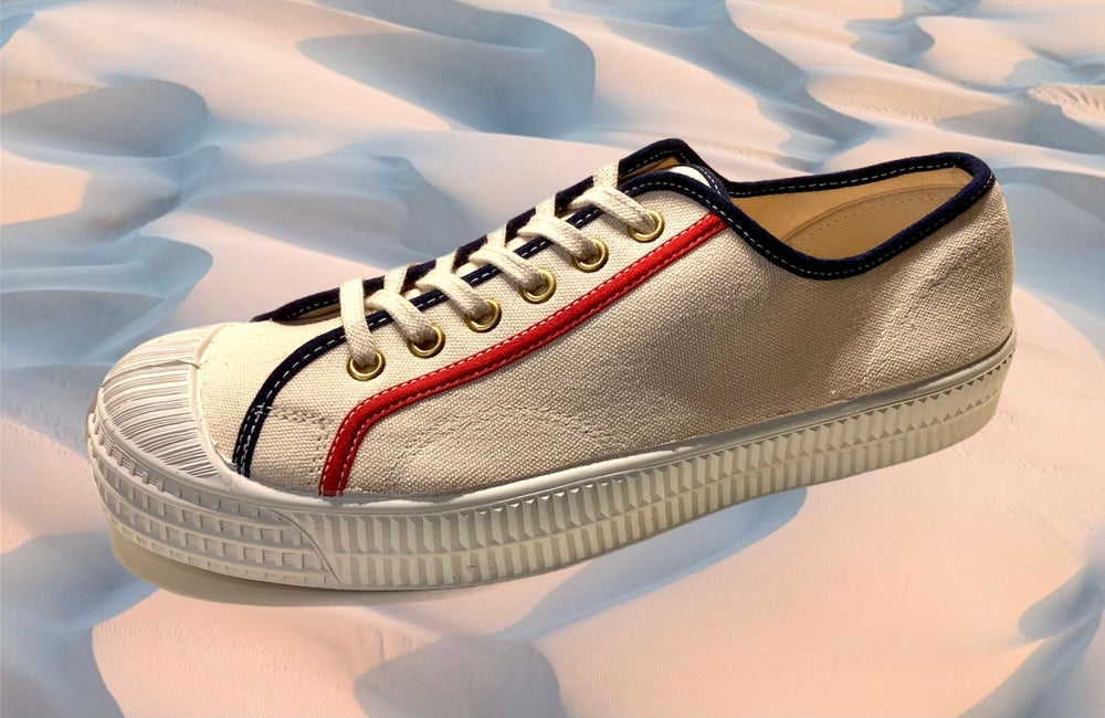 Image of VEGANCRAFT canvas lo top sneaker shoes made in Slovakia