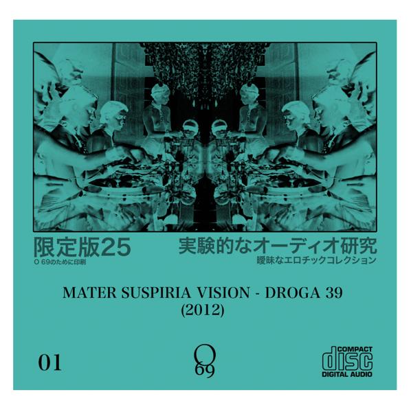 Image of Limited 25: O'69 #1 Mater Suspiria Vision - Droga 39 (2-CDR Set)
