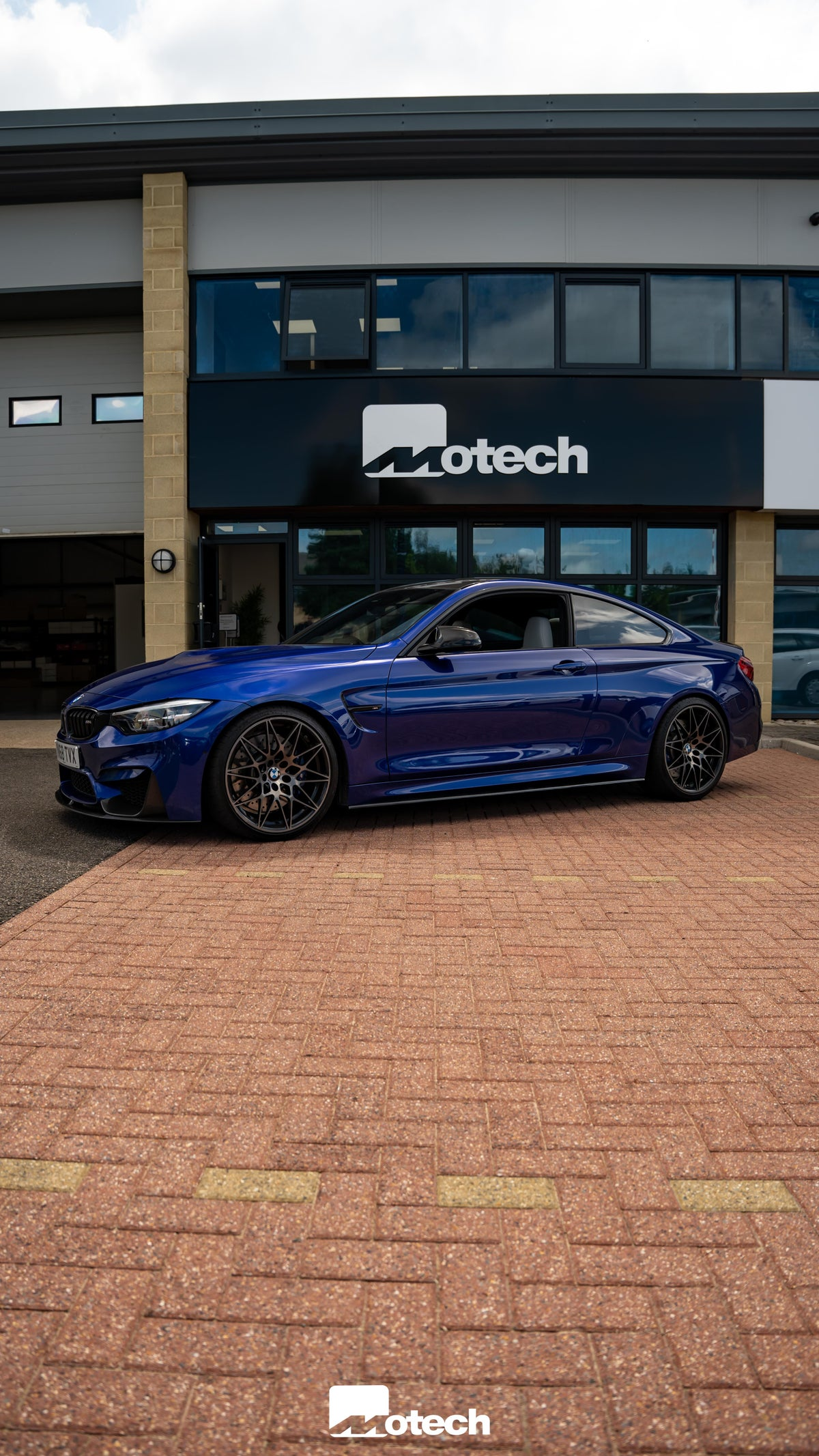 Image of BMW M4 F82 F83 Motech Stance Lowering Springs
